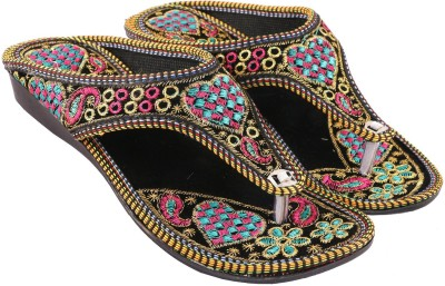 Vinayak Collection Women Multicolor Wedges