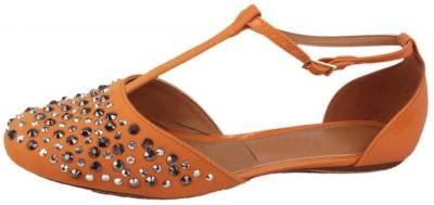 Moda Brasil Women Orange Flats
