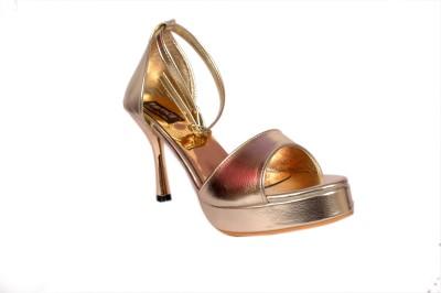 Studio 9 Women Gold Heels