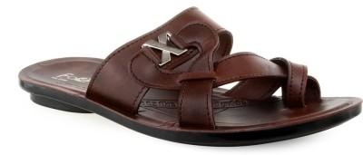 Footick Men Brown Sandals
