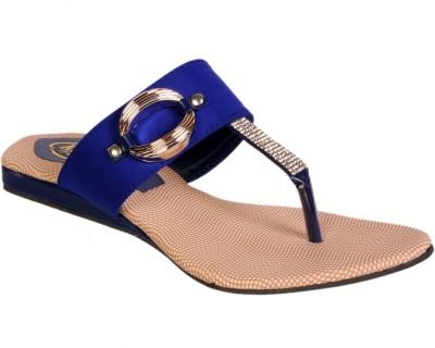 Duppy Women Blue, Blue Flats