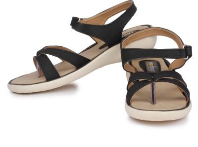 Sapatos Women Black Flats