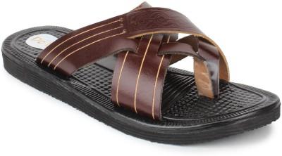 Do Bhai Kolapuri-3347 Men Brown Sandals