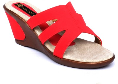 Gcollection Women Red Wedges