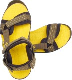 Space Men Yellow Sandals