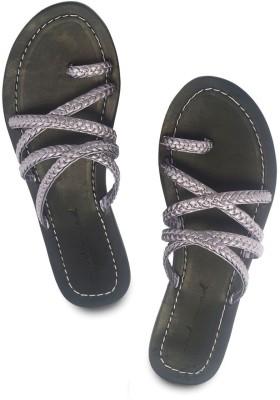 Modsquad Women Silver Flats