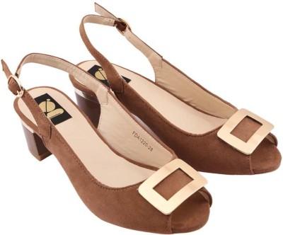 Gossip Women Brown Heels
