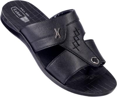 Lehar Fighter 08 Men Black Sandals