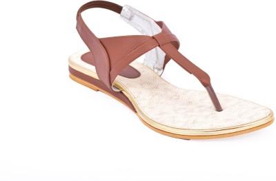 Relexop Women Tan Flats
