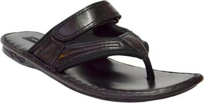 MAINE HAITEN Men Black Sandals