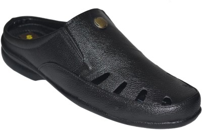 Strive Men Black Sandals