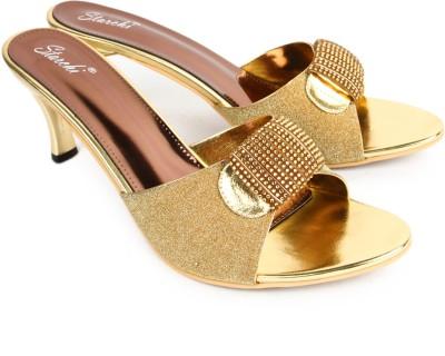 Starchi Women Gold Heels
