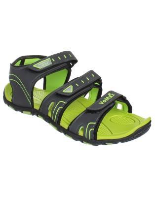 Vomax Men Grey, Green Sandals