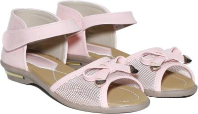 Craze Shop Girls Pink Sandals