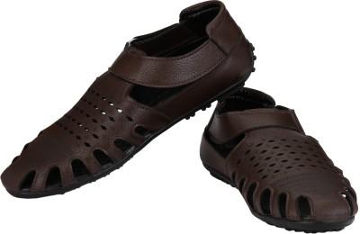 Little Step Men Brown Sandals