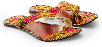 Tradition India Girls Multicolor Flats