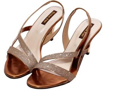 Global Step Women Brown Heels