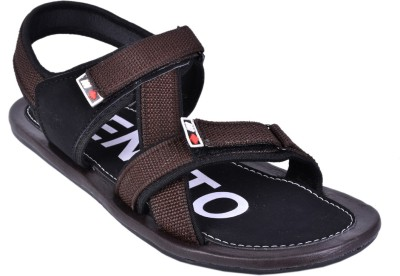 CENTTO Men Brown Sandals