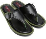 Gressum Men Black Green Sandals