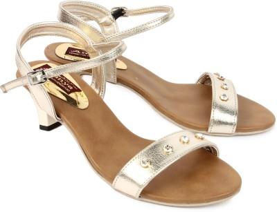 Ananya Women Gold Heels