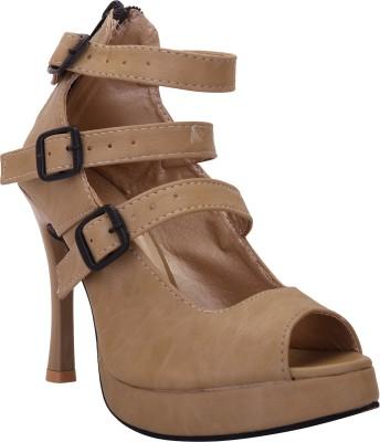 Solester Women Brown Heels