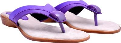 Femine Women Purple Flats