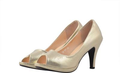 Shuberry Women Gold Heels