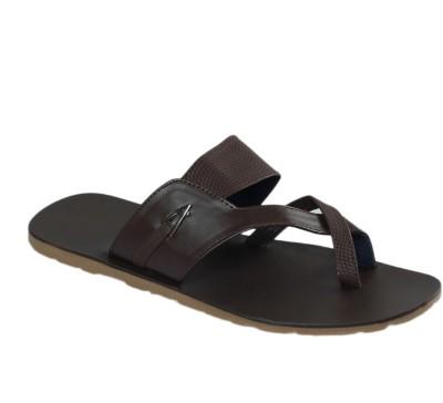 Shoe Bazar Non Leather Men Brown Sandals