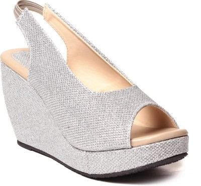 Unique Selection Women Silver Heels
