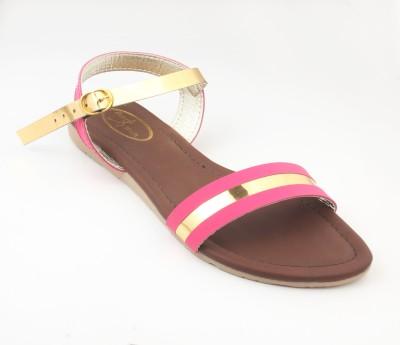 RUNWALK Girls Pink Flats