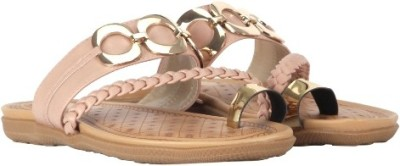 Urban Vogue Women Pink Flats