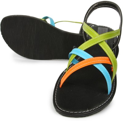 Anupamaa Multi Color Sandals Girls, Women Multicolor Flats