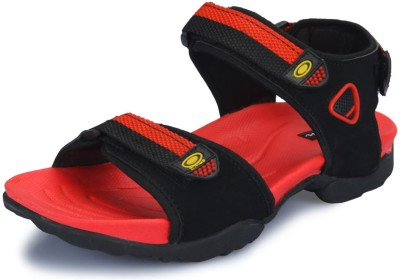 Nawaabs 978 Men Black, Red Floaters