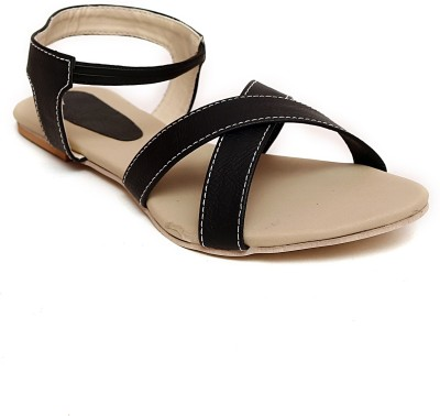 MK COLLECTIONS Women Black Flats
