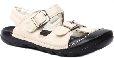 Foot Candy Boys White Sandals