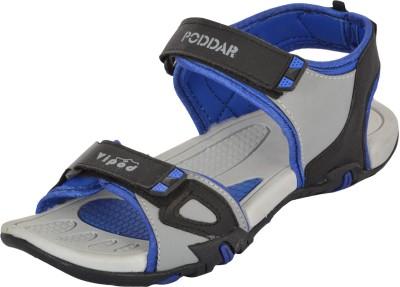 Poddar Men Blue Sandals