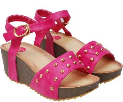 iLO Women Pink Wedges