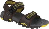 Campus Men Brown::Yellow Sandals