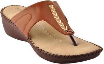 Bootwale Women Tan Flats