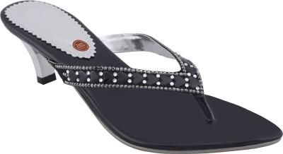 Shoe Bazar Women Black Heels
