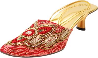 Saashiwear Women Multicolor Heels