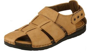 Ronaldo Men Tan Sandals