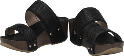 Rialto Women Black Wedges
