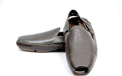 Mori Driving Men Brown Sandals