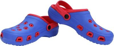 Nivia Men 4912, Blue/Red Clogs