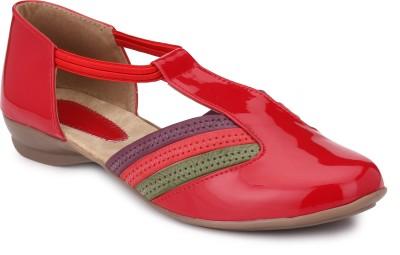 Koyka Women Red Flats