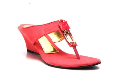 Laila Collections 708000pkw Women Pink Wedges