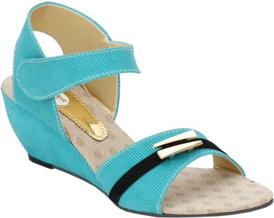 Collection13 Women Blue Wedges