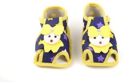 CHHOTE JANAB Baby Girls, Baby Boys Yellow Flats