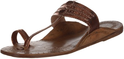 Kolapuri Center Women Brown Flats